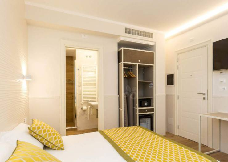 Superior double room marco polo hotel rome