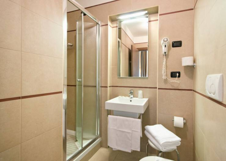 Chambre double twin hotel marco polo roma
